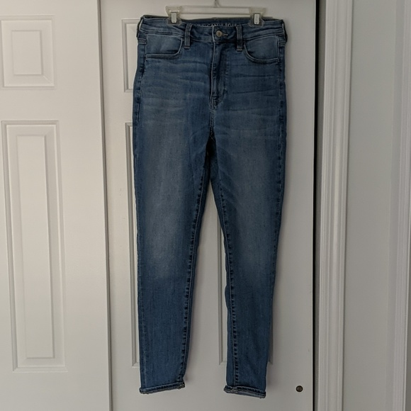 American Eagle Outfitters Denim - AE super high rise jegging